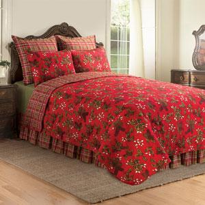 Kellyn Full/Queen Red Quilt