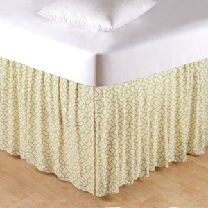 Adrienne Meadow Queen Bed Skirt