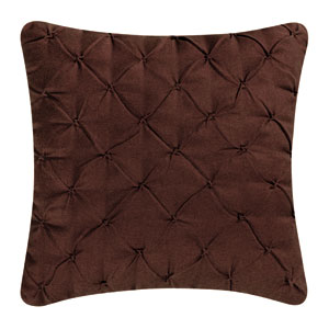 Kasbah Brown 18-Inch Decorative Pillow