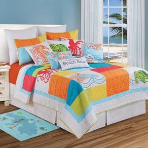 Tropic Escape Multicolor Standard Sham