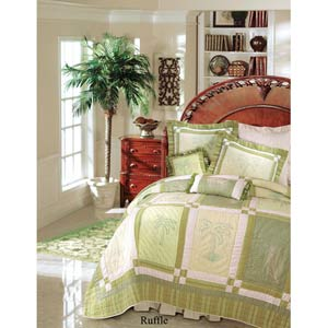 Vineyard Dream 39 x 76 Twin Dust Ruffle