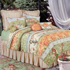 Garden Dream 66 x 86 Twin Quilt