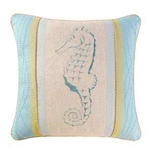 Natural Shells 18 x 18 Pillow