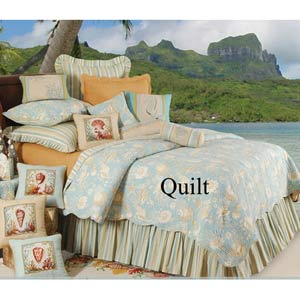 Natural Shells 66 x 86 Twin Quilt