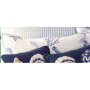 Treasures by the Sea 20x26 Inch Standard Sham