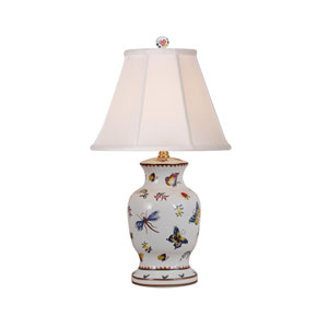 White 21-Inch Table Lamp