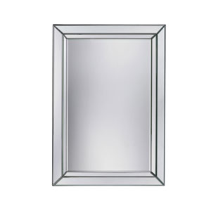 Arriba Clear 28-Inch Rectangular Mirror
