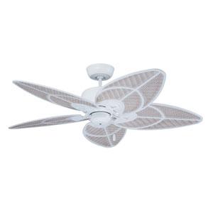 Satin White Batalie Breeze Ceiling Fan