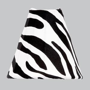 Zebra Print Bell Shaped Nightlight