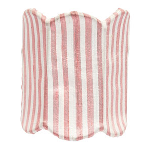 Double Scallop Pink and White Stripe Nightlight