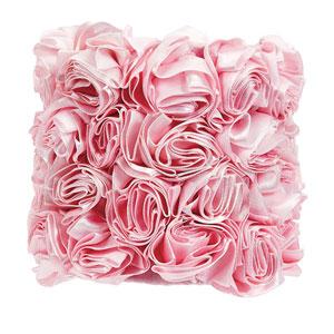 Rose Garden - Pink Chandelier Shade - Drum Shape