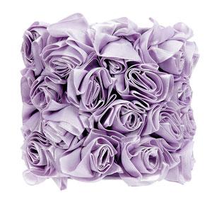 Rose Garden - Lavender Chandelier Shade - Drum Shape
