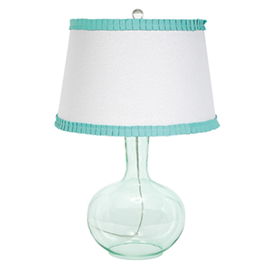 Turquoise One Light Table Lamp