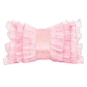 Ruffle Pink 14 x 20 Decorative Pillow