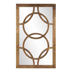 Felicity Gold Rectangular Wall Mirror