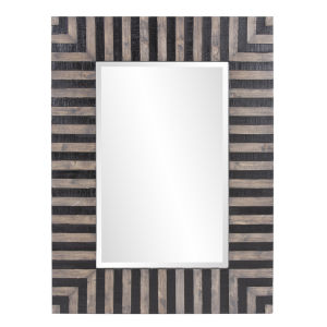 Winchester Black and Tan Wall Mirror