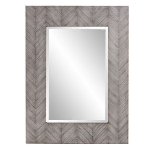 Cavalier Gray Wash Wall Mirror