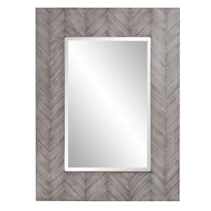 Cavalier Gray Wash Wall Mirror