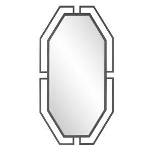 Gotham Graphite Wall Mirror