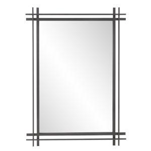 Clarke Graphite Wall Mirror