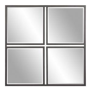Metropolis Graphite Wall Mirror