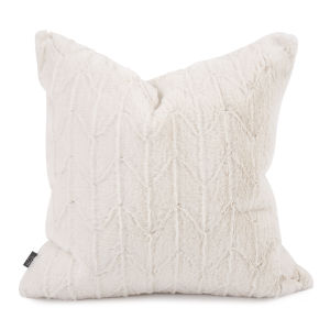 Angora Natural 20 x 20 Inches Pillow
