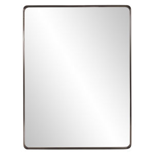 Steele Brushed Brass Wall Mirror
