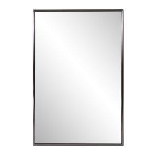 Yorkville Brushed Titanium Vanity Mirror