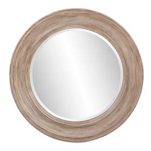 Maisey Rustic Round Mirror
