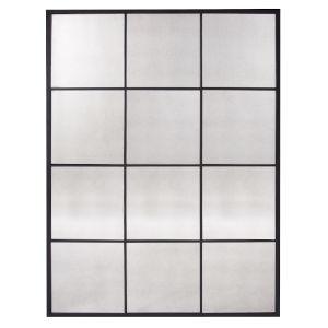 Racine Black Wall Mirror