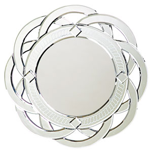 Galaxy Glass 1-Inch Round Mirror