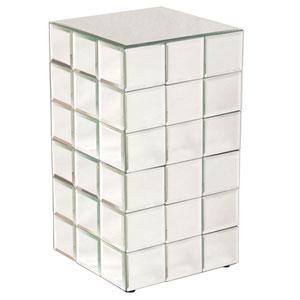 Antares Transparent Medium Puzzle Cube Pedestal