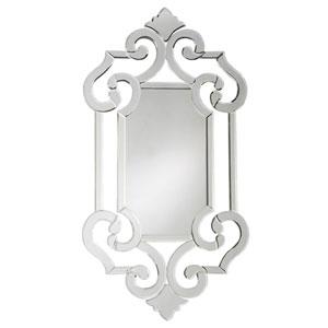 Clarice Transparent Venetian Mirror