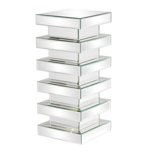 Stepped Clear Medium Pedestal