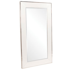 Devon White Rectangle Mirror