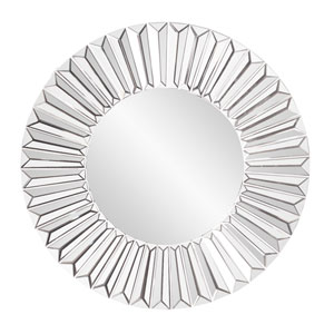 Mirrored Torino Sunburst Mirror