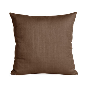 Sterling Chocolate Square Pillow