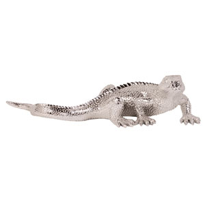 Bright Nickel Plated Lizard