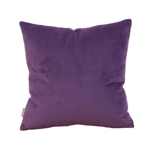 Bella Eggplant Square Pillow