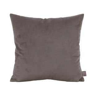 Bella Pewter Square Pillow