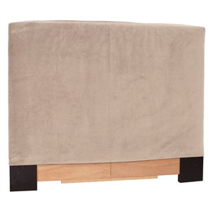 Bella Sand Full Queen Headboard Slipcover
