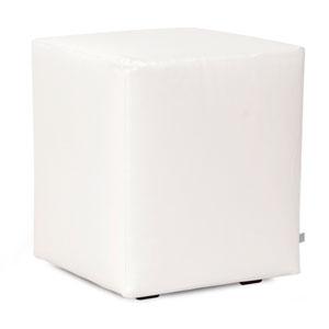 Avanti White Universal Cube Ottoman