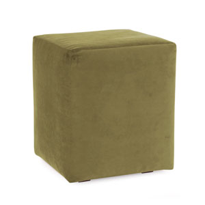 Bella Moss Green Universal Cube Ottoman