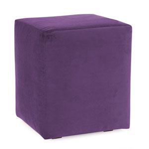 Bella Eggplant Universal Cube Ottoman