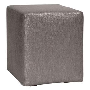 Glam Zinc Universal Cube Ottoman