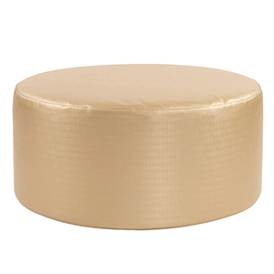 Luxe Gold Universal 36-inch Round Ottoman