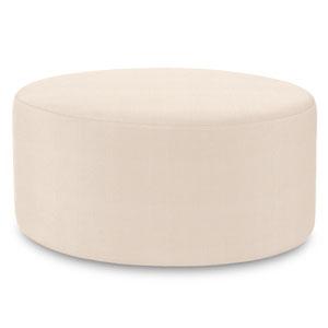 Sterling Sand Universal Round Ottoman