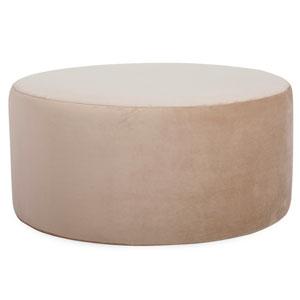 Bella Sand Universal Round Ottoman