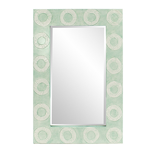 Rhumba Aquamarine Rectangular Mirror