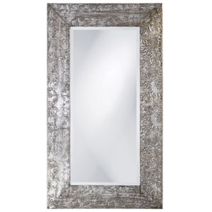 Napier Brushed Silver Rectangle Mirror